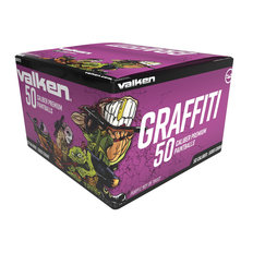 Valken Graffiti .50 Caliber Paintballs -  5000ct