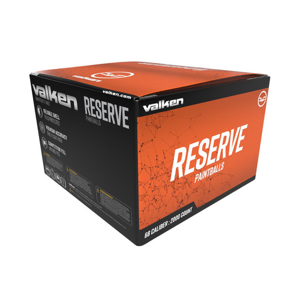View larger image of Valken Reserve .68 Caliber Paintballs - 2,000 Count