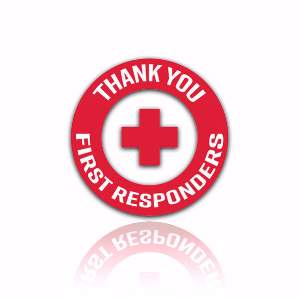 View larger image of Thank You First Responders Morale Patch