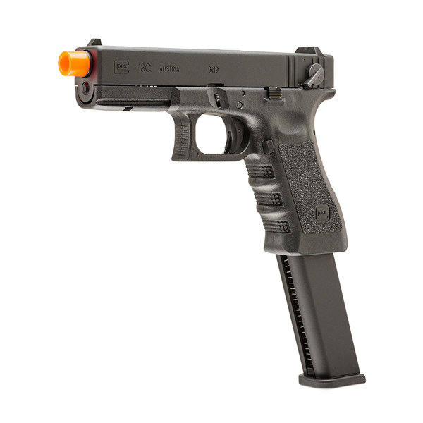 View larger image of Umarex GLOCK 18C Gen3 GBB Airsoft Pistol w/ Extended Mag (VFC)