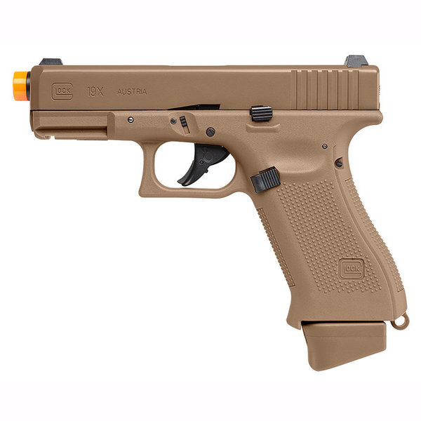 View larger image of Umarex GLOCK 19X CO2 Half-Blowback Airsoft Pistol