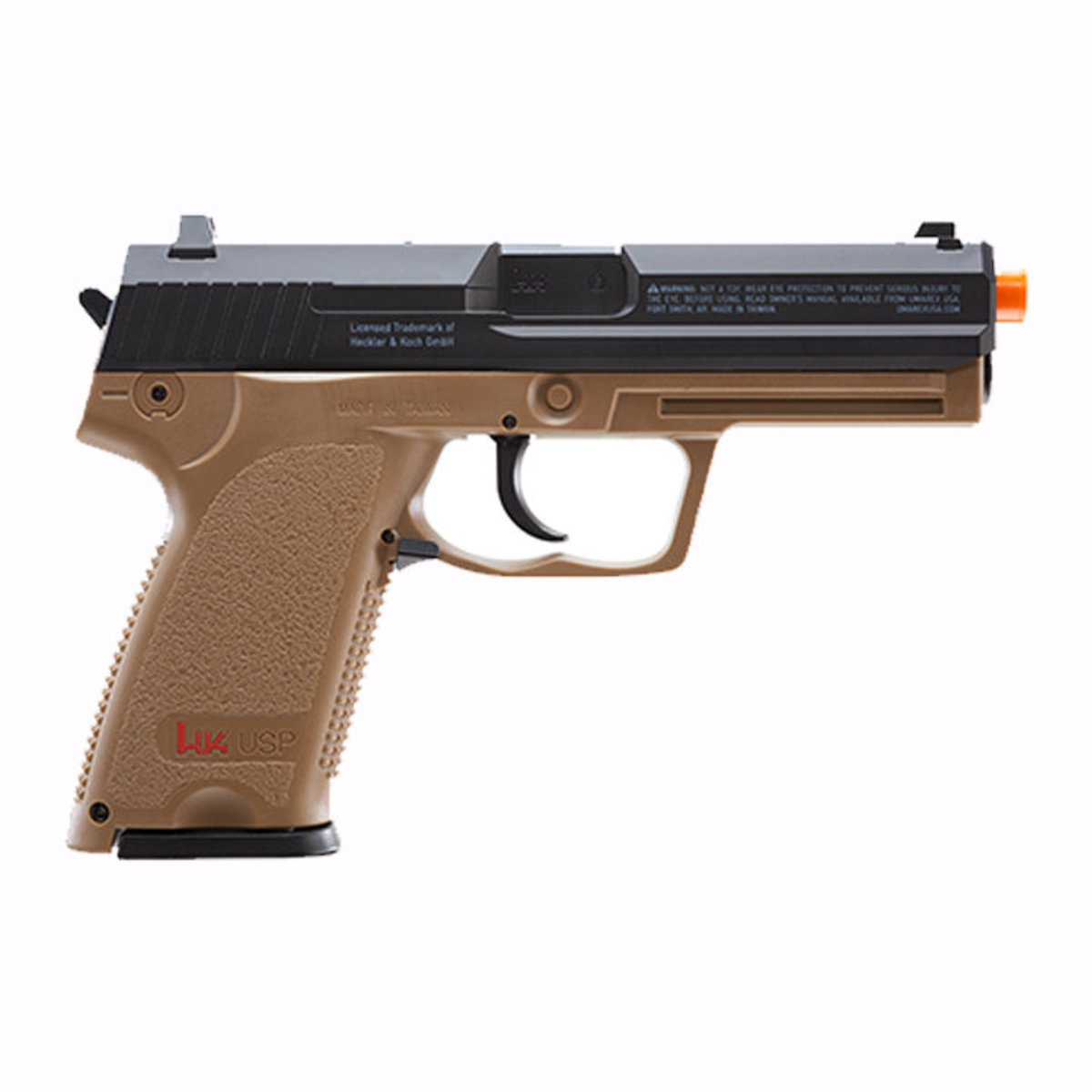View larger image of Umarex H&K USP Full Size CO2 Non-Blowback Airsoft Pistol