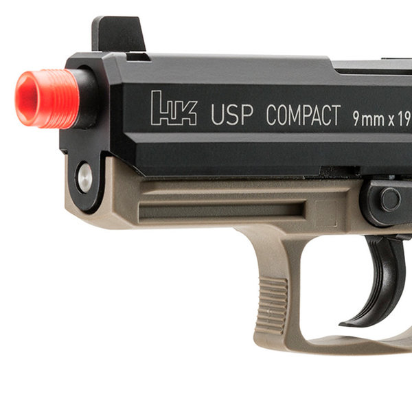 View larger image of Umarex H&K USP Compact Tactical GBB Airsoft Pistol (KWA)