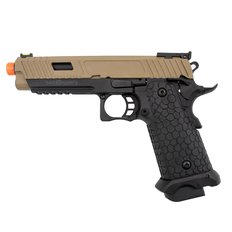 Valken BY HICAPA CO2 Blowback Airsoft Pistol - Tan/Black