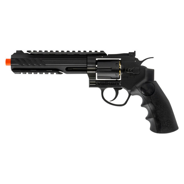"""View larger image of Valken 6"""" CO2 Powered Airsoft Revolver"""