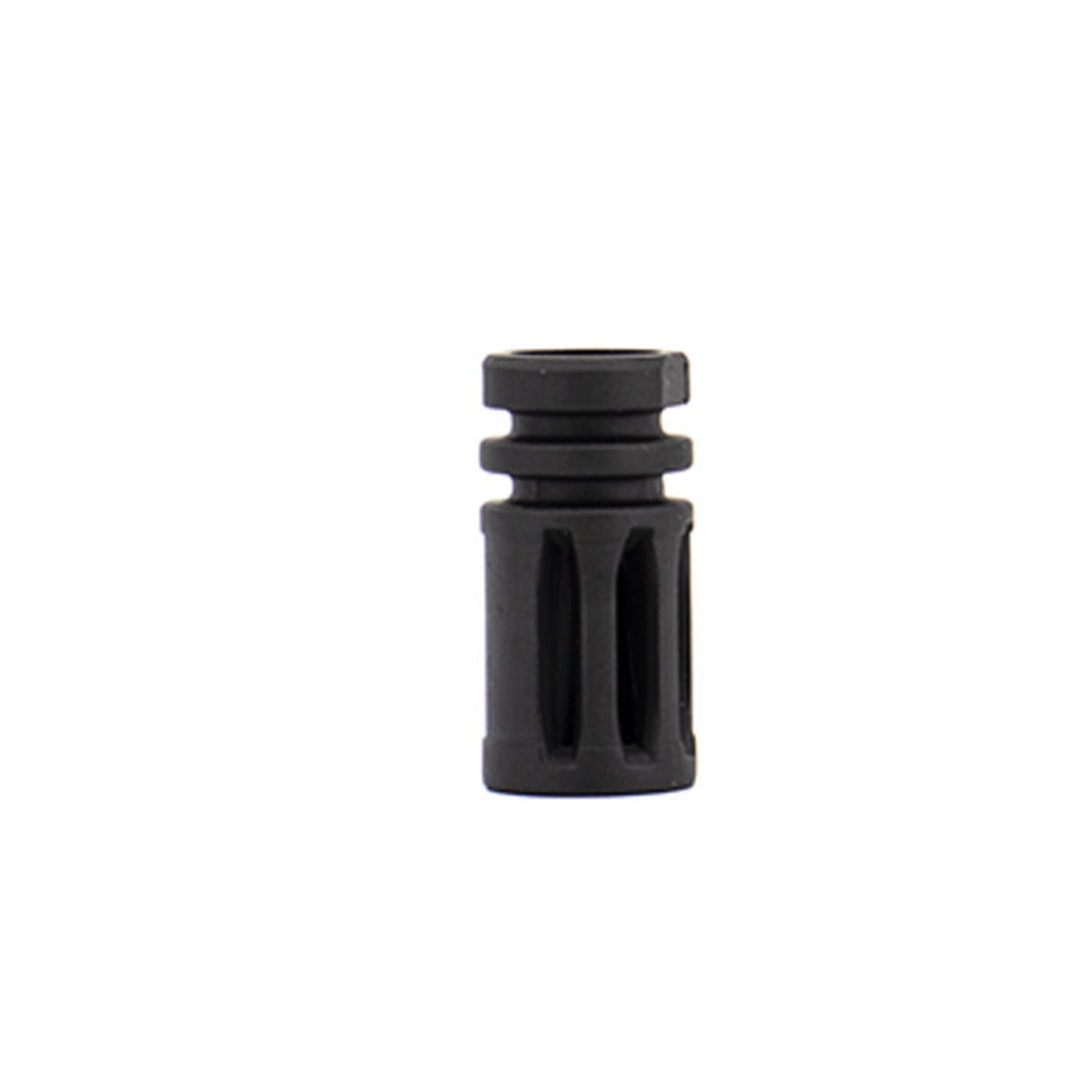 View larger image of Valken Flash Hider Metal Rifle Accessory - Black