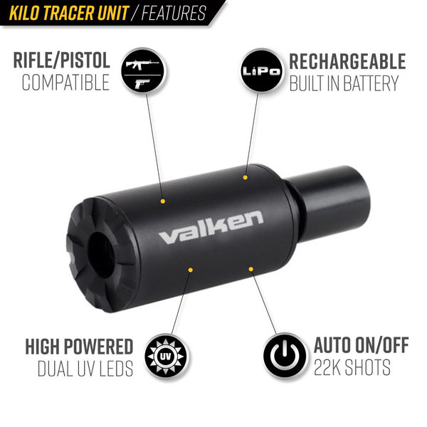 View larger image of Valken Kilo Airsoft Tracer Unit