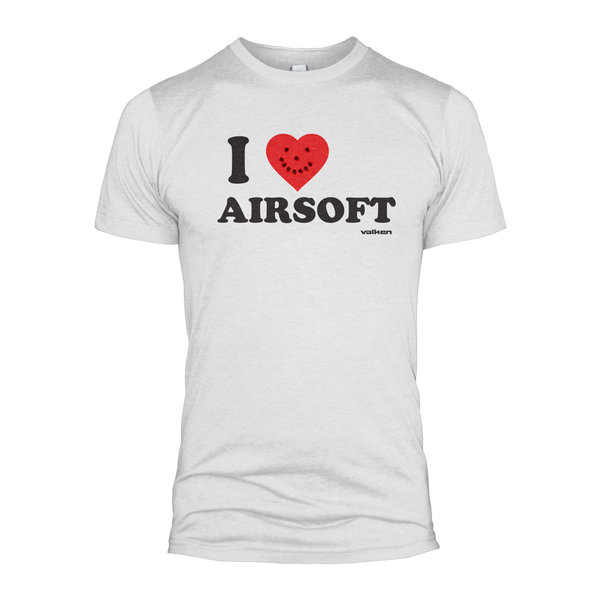 """View larger image of Valken """"I Love Airsoft"""" T-Shirt"""