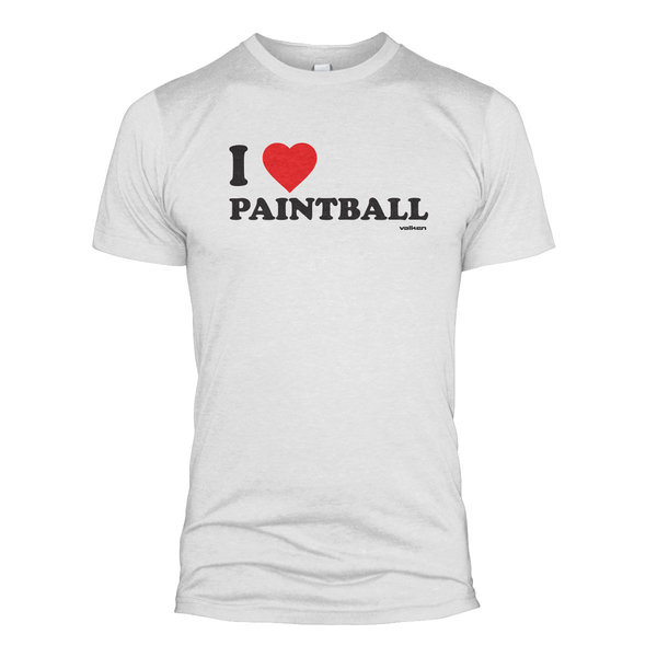 """View larger image of Valken """"I Love Paintball"""" T-Shirt"""
