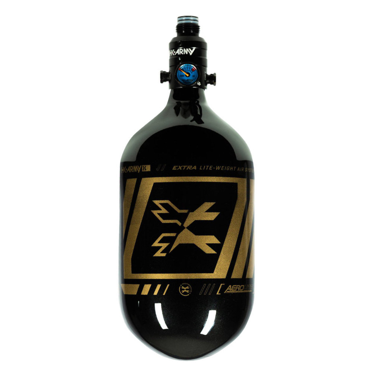 View larger image of HK Army SLASH 68/4500 Extra Lite Paintball Compressed Air Tank w/Pro Reg