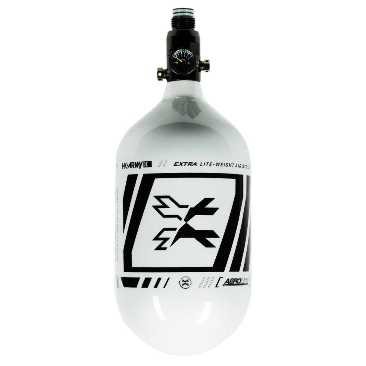 View larger image of HK Army SLASH 68/4500 Extra Lite Paintball Air Tank w/ Standard Reg