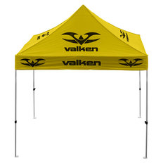 Valken 10'x10' Alum. Stronger Frame Tournament Tent - Yellow