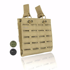 Valken Multi Rifle Double Magazine Pouch - Laser Cut