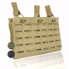 Valken Multi Rifle Triple Magazine Pouch - Laser Cut