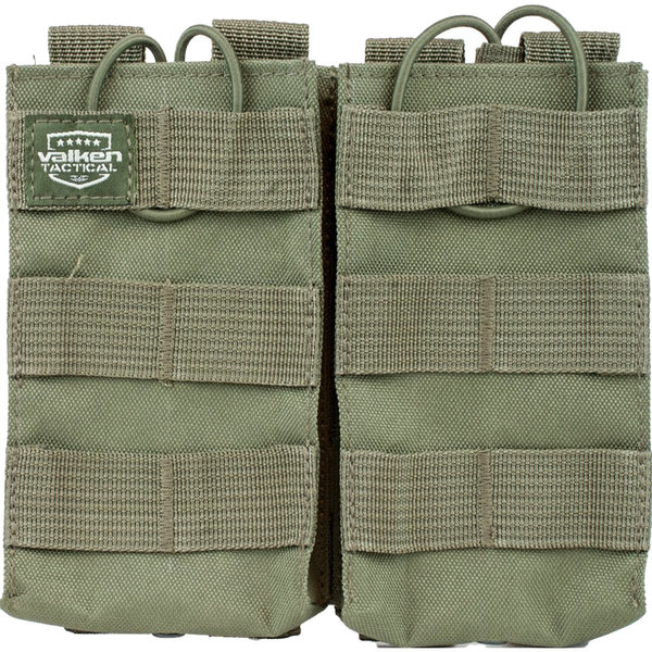 View larger image of Valken Double Magazine AR MOLLE Pouch