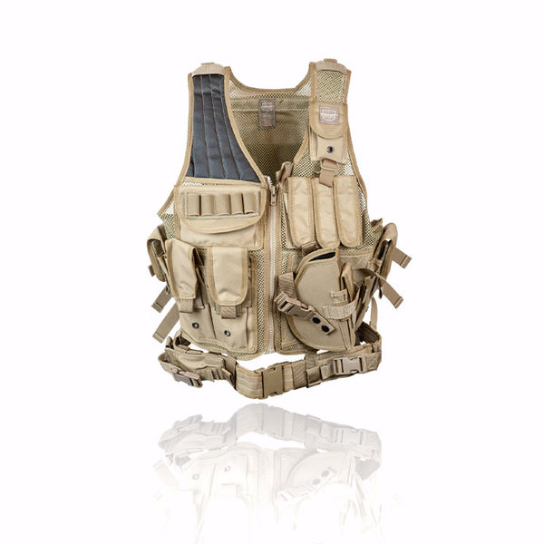 View larger image of Valken Crossdraw Airsoft Vest - Adult