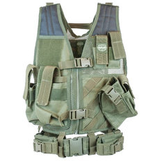 Valken Crossdraw Airsoft Vest - Youth
