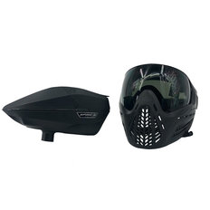Virtue Vio Ascend & Spire Loader Goggle Combo - Black